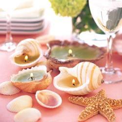 yemek masası düzenleme masa süsleme nasıl yapılır deniz kabuklarıyla masalarınızı şıklaştırın