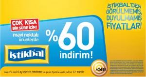 İstikbal'de Mavi Noktalı Ürünlerde %60 İndirim! İstikbal Kampanyaları