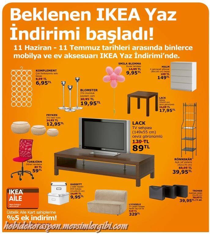ikea yaz indirimi çılgın fırsatlar ayın fırsatı kampanyası kampanyaları kampanya IKEA evinizin herşeyi