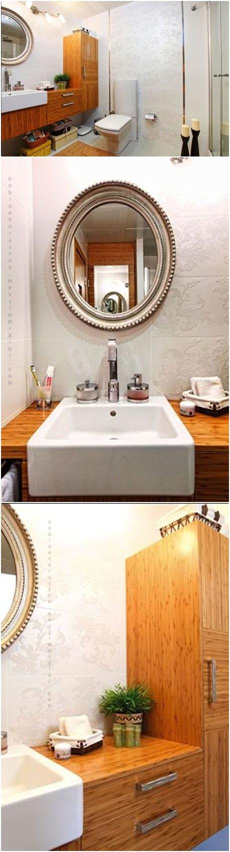 banyo dekorasyonu örnekleri banyo duş wc dekorları dekorasyonları