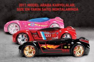 çilek mobilya 2011 araba karyola modelleri