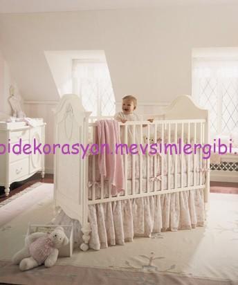 fatih kıral mobilya isabella bebek odası takımı