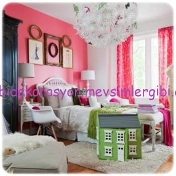 ilkbaharın boya renkleriyle odalarınızın tazeleyin 001 2014 dekorasyon modası