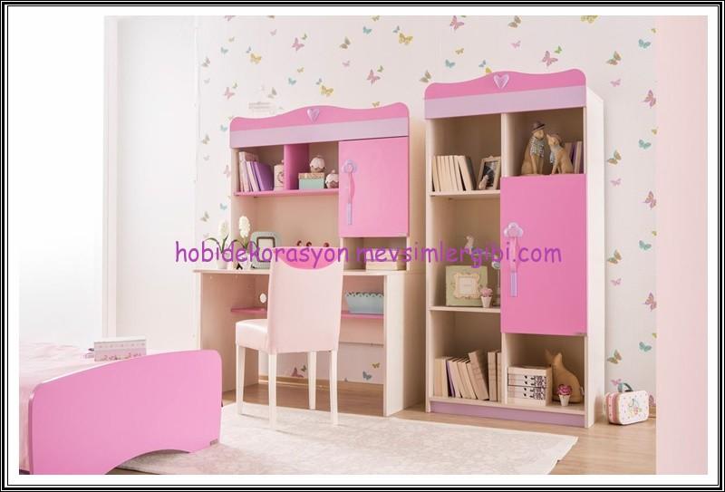 pembe kız çocuk odası takımları ve fiyatları alfemo genç kız yatak odaları dekorasyonu