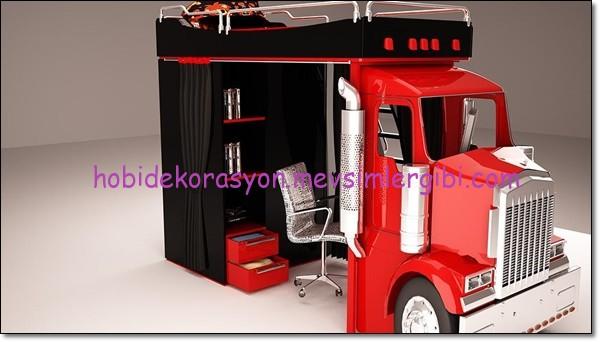 apron kamyon yatak genç odası