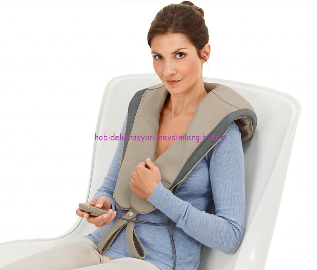 tchibo vurmalı masaj aleti 5 etkili 3 farklı masaj programlıdır