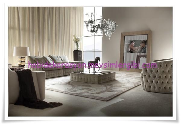 Fatih Kıral deri kaplı mobilyalar